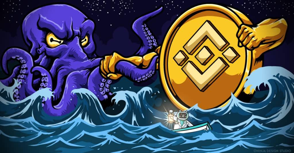 Kraken vs. Binance Featured Image